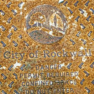 City of Rockwall Manhole // DTX327
