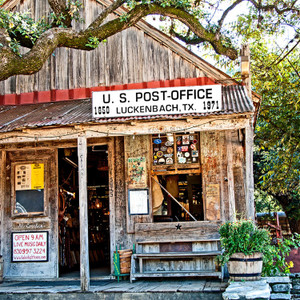 Luckenbach Post Office // ATX194