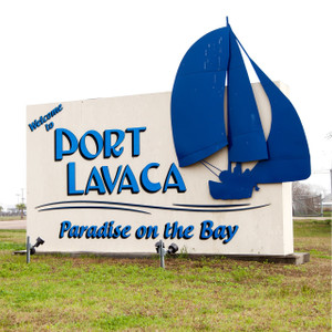 Port Lavaca Sign // SA125