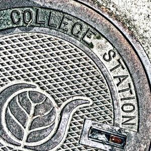 College Station Manhole // HTX133