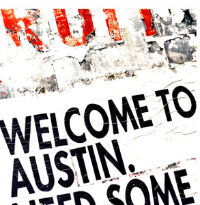 Welcome to ATX - coaster