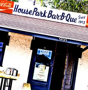 HousePark BBQ- coaster