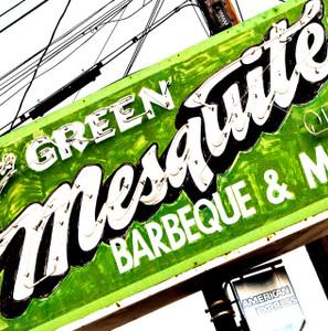 Green Mesquite- Coaster