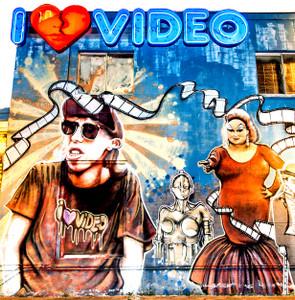 I Love Video - Coaster