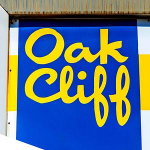Oak Cliff Blue Yellow // DTX060