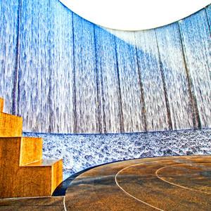 Water Wall Houston // HTX074