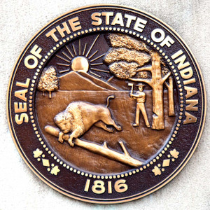 Indiana Seal // IND020