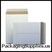 """Stayflats® Plus White Top-Loading Self-Seal Mailer 20 x 27"""" #12PSW White Top-Loading Self-Seal Stayflats® Plus Mailer (50 Case) ENVRM12PSWSS"""