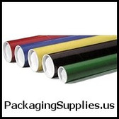 "Colored Mailing Tubes 2 x 20"" Blue Tube (50 Case) P2020B"
