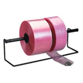 "Anti-Static Poly Tubing, 2 MIL|3"" x 2,150` 2 Mil Pink Anti-Static Poly Tubing|PTAS0302"