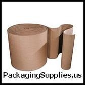 "Singleface Corrugated Protective Wraps 24"" x 250` Singleface Corrugated CRCSF24"