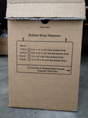 "12"" x 65', 1⁄2"" Bubble Wrap Roll Dispenser Box 5120-S"