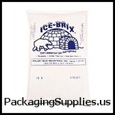 "8 x 6 x 1 1/4"" Ice Brix Cold Pack - 24 oz. (24/case)   IB24BPD"