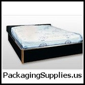 "Twin Size 4 Mil. Pillow-Top Style Mattress Bag with Vent Holes 39 x 10 x 90"" (25/roll)   MTB-PE25"