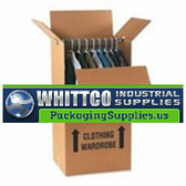 Stock Boxes|Wardrobe Box Printed 23 3/4 x 20 1/2 x 46 1/8 350# / 51 ECT DW Printed Room Locator Check-Off Box|BSWARDROBE