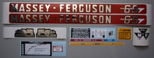 Massey-Ferguson MF 65 Tractor Decal Set - Complete