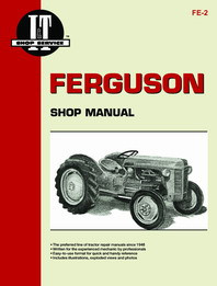 Ferguson TE20, TO20, TO30 Tractor - I&T Shop Manual FE-2