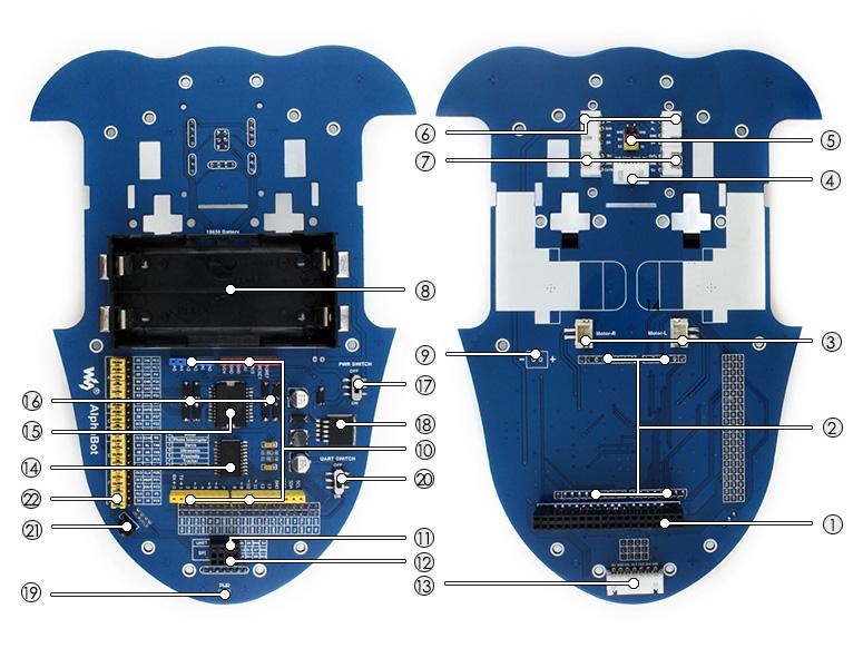 AlphaBot Main Board