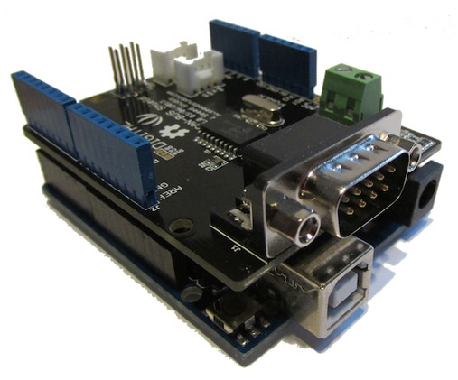 CAN Bus Or SAE J1939 Development Kit With Arduino Uno