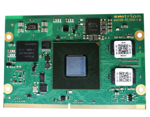Virtualization-capable octa-core Cortex-A15/ Cortex-A7 module (SOM/COM) including powerful 3D graphics, USB3.0, GbE, camera and CAN.