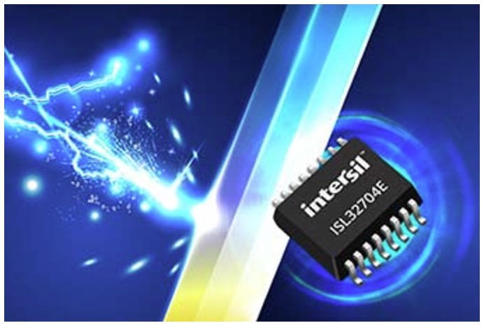 Internsil ISL32704E - Industry's Smallest Isolated RS‑485 Transceiver