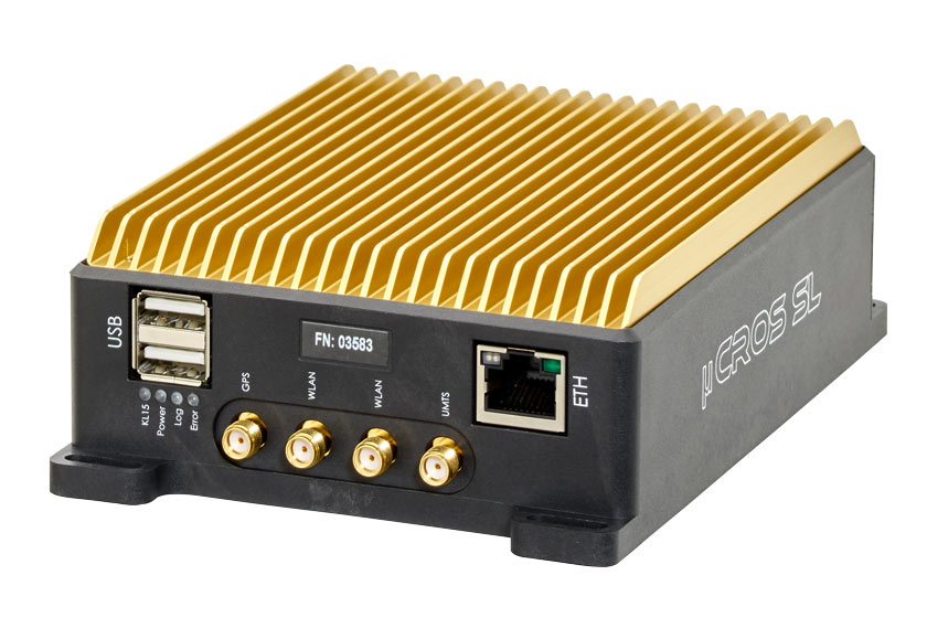 Ipetronik µCROS SL - Compact data logger for fleet management