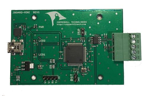 jCOM.J1939.USB - SAE J1939 ECU Simulator Board With USB Port