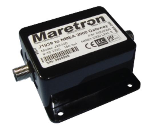 Maretron J2K100 J1939 to NMEA 2000 Gateway