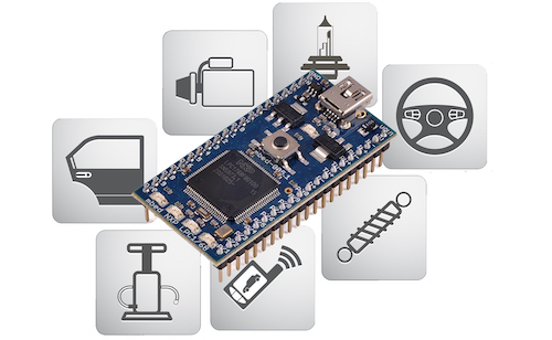 Controller Area Network (CAN) Prototyping With the ARM Cortex-M3 Processor