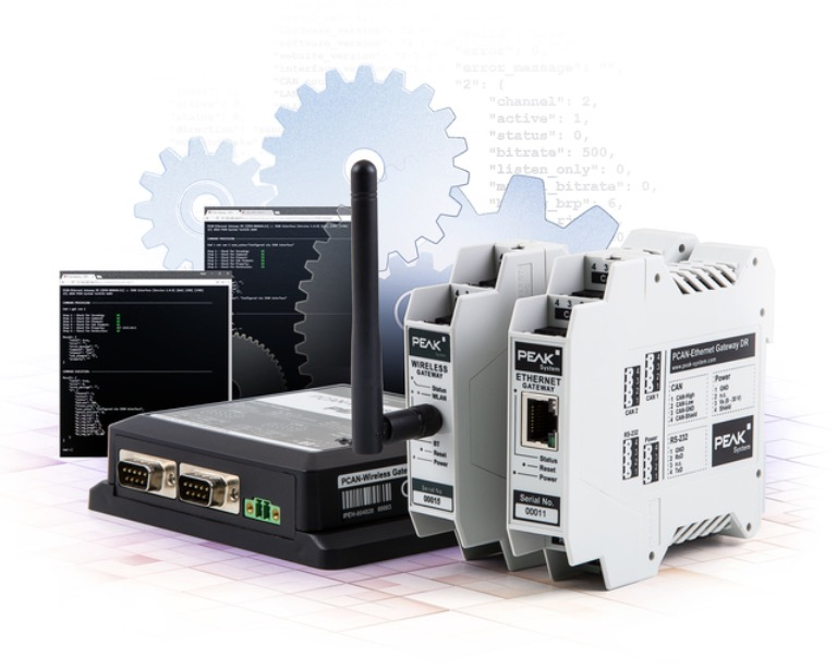 PCAN-Gateway product family from Peak-System