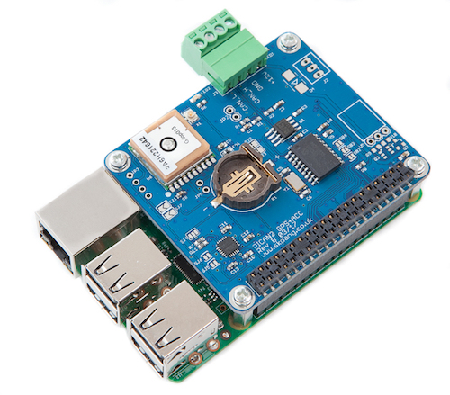 PiCAN with GPS - Gyro - Accelerometer CAN-Bus Board for Raspberry Pi 3