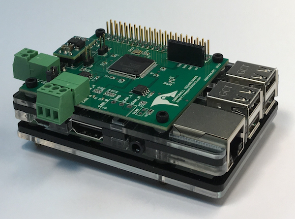 SAE J1939 Turbo Interface for Raspberry Pi