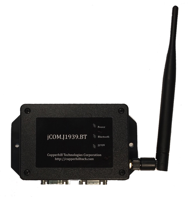 SAE J1939 to Bluetooth Gateway With 9-Pin Deutsch Connection Cable