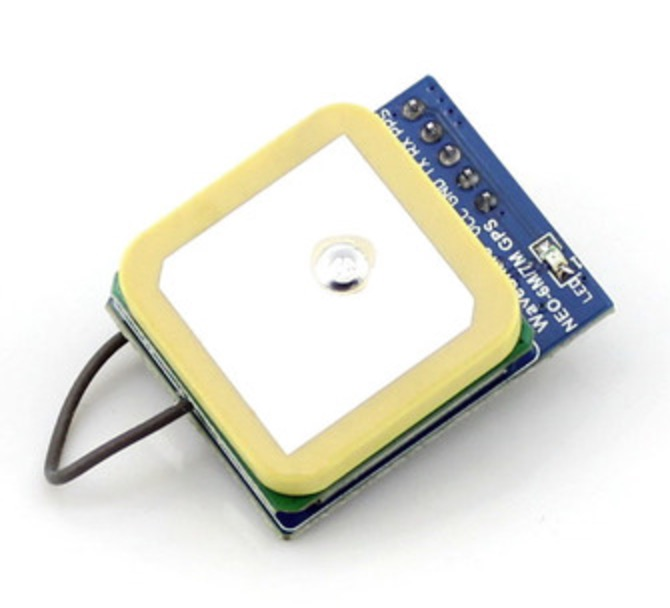 UART GPS Module With Real-Time Clock