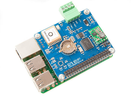 PiCAN with GPS CAN-Bus Board With SMPS for Raspberry Pi 3