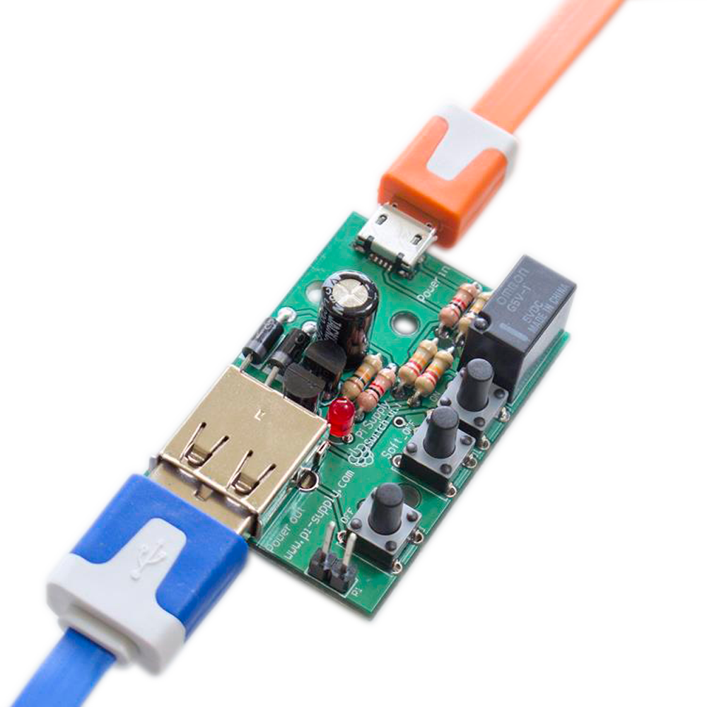 Intelligent Power Supply Switch For Raspberry Pi - Copperhill