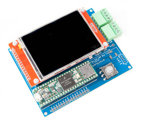 """Teensy 3.6 CAN-Bus FD Demo Board With 2.8"""" TFT LCD"""