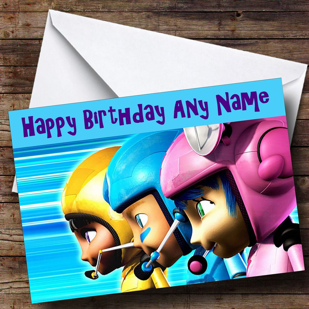 Kerwhizz Kids Personalised Birthday Card The Card Zoo – Personalised Birthday Cards for Kids