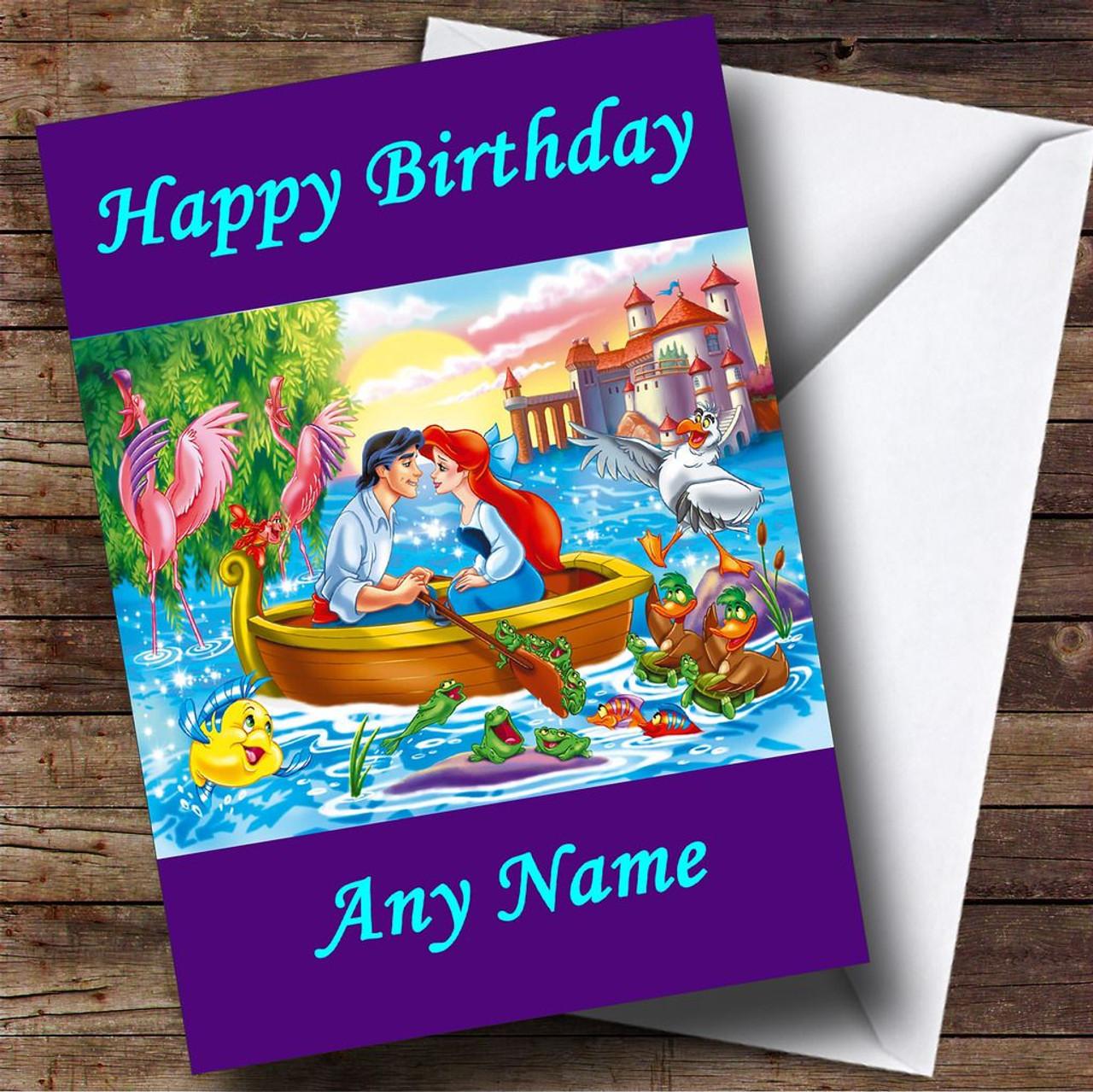 The Little Mermaid Personalised Birthday Card The Card Zoo – Numberjacks Birthday Card