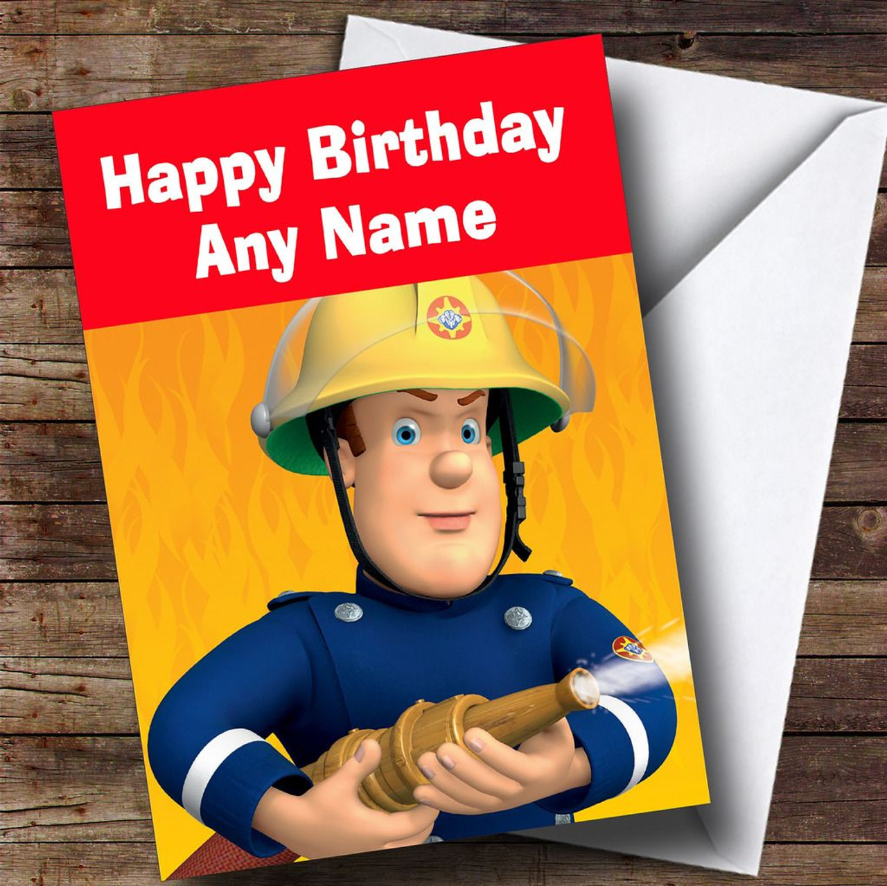 Bert And Ernie Personalised Childrens Birthday Card The Card Zoo – Fireman Sam Birthday Cards