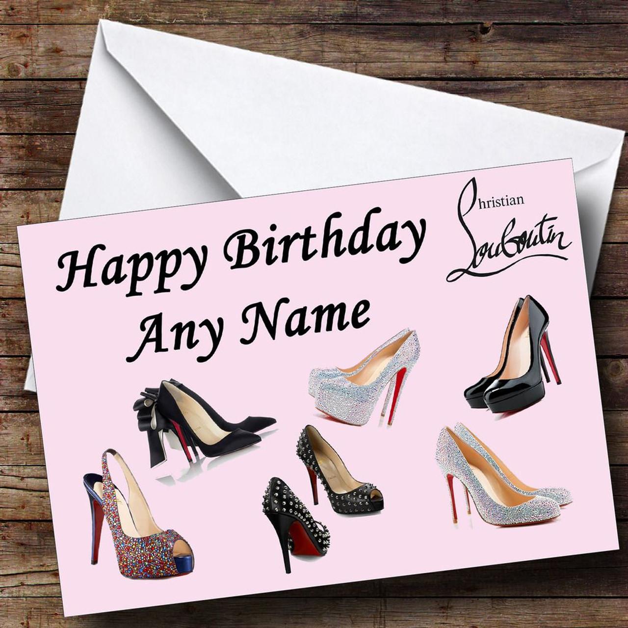 Christian Louboutin Personalised Birthday Card The Card Zoo – Numberjacks Birthday Card