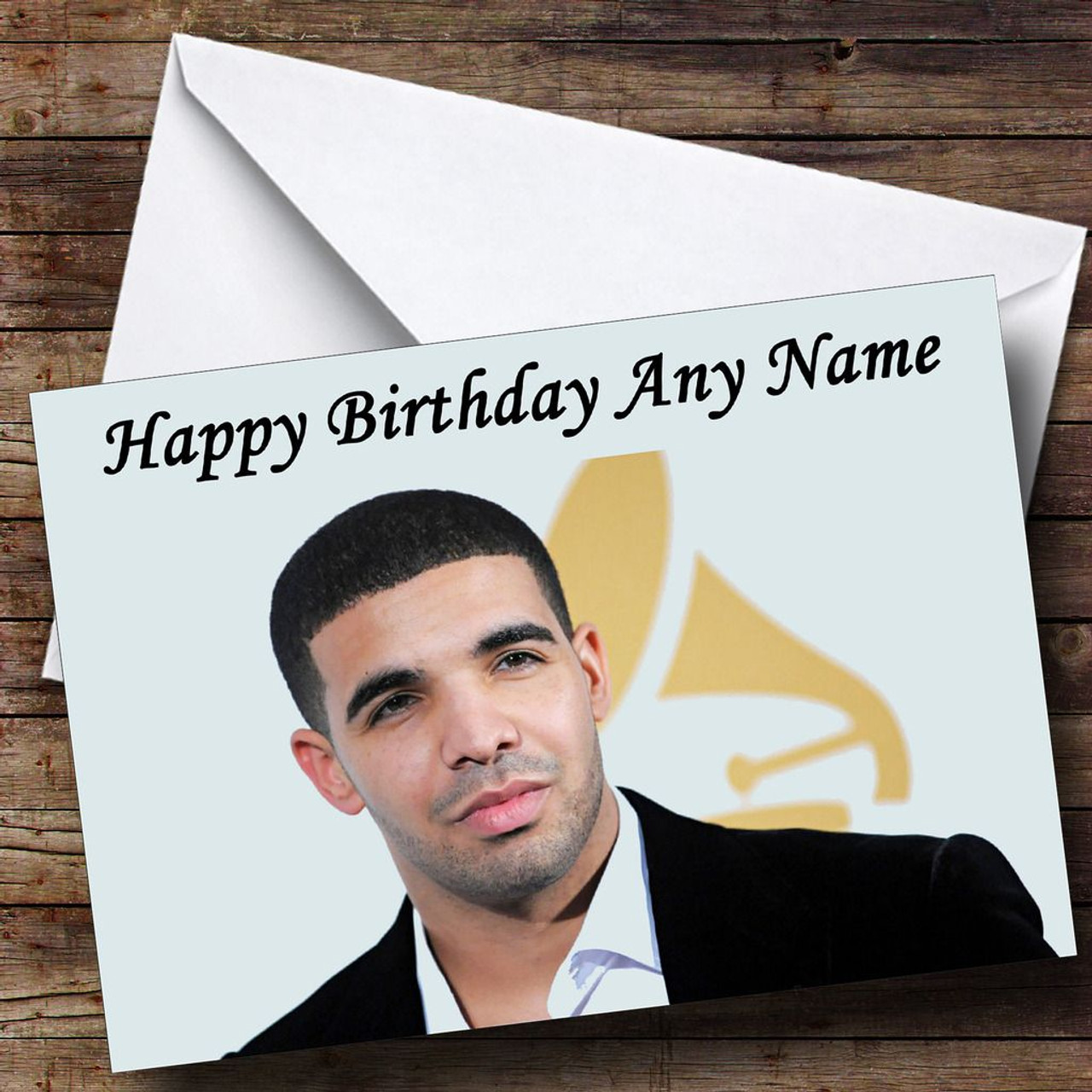 Drake Personalised Birthday Card The Card Zoo – Drake Birthday Card