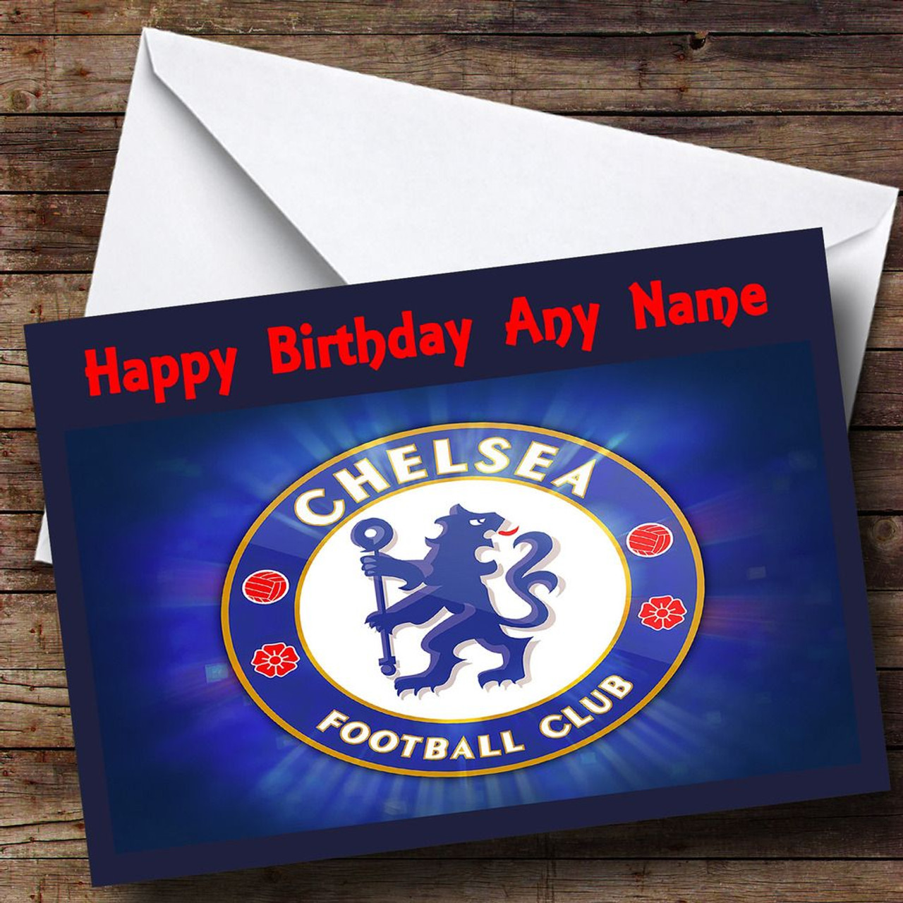Chelsea Personalised Birthday Card The Card Zoo – Chelsea Birthday Card