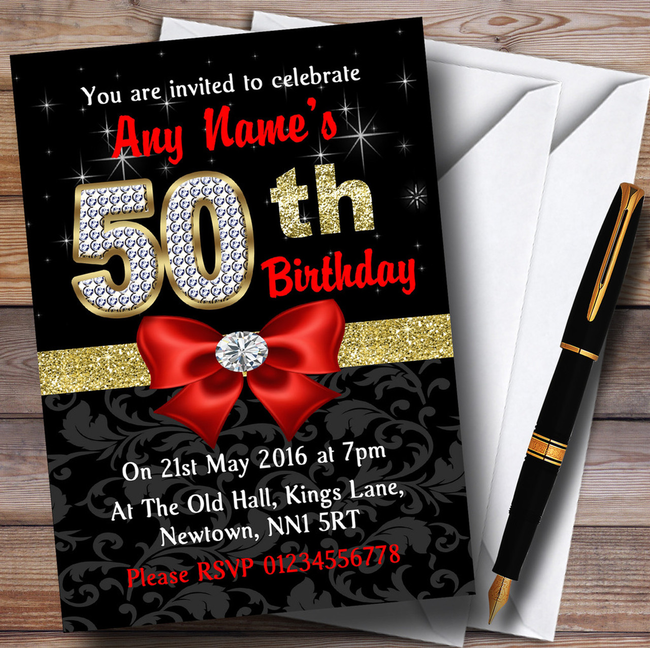 Red Black Gold Diamond 50th Birthday Party Personalised. Primitive Home Decor Ideas. Decorative Sliding Doors. Rooms For Rent Escondido. Decorative Metal Picture Frames. Decorative Window Shades Roller. Art Deco Dining Room. Decorative White Vases. Tie Dye Decorations