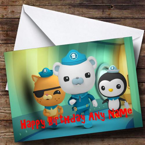 The Numberjacks Personalised Birthday Card The Card Zoo – Numberjacks Birthday Card