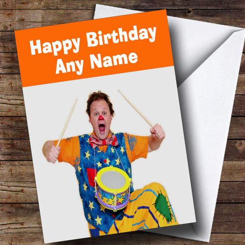 Tiny Tumble Personalised Childrens Birthday Card The Card Zoo – Mr Tumble Birthday Card