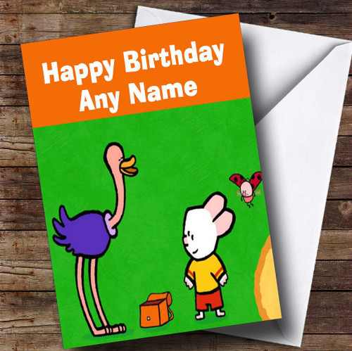 Personalised Childrens Birthday Cards Louie Personalised Children S