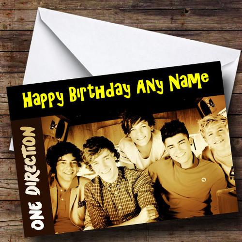 Zayn Malik One Direction Personalised Birthday Card The Card Zoo – One Direction Personalised Birthday Card