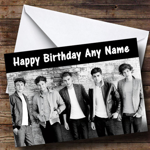 One Direction Dream Personalised Birthday Card The Card Zoo – One Direction Personalised Birthday Card