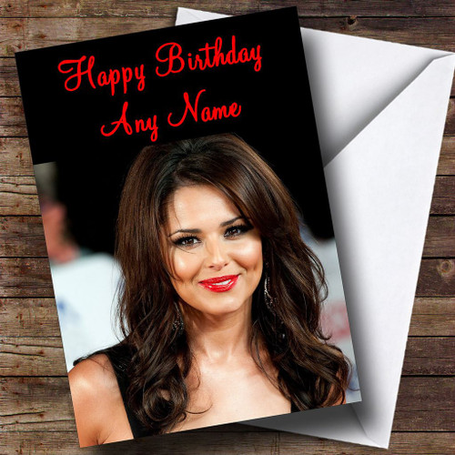 Cheryl Cole Smiling Personalised Birthday Card The Card Zoo – Cheryl Cole Birthday Card